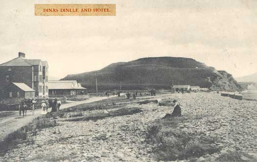 Dinas Dinlle and Hotel